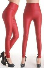 Faux Leather Unbranded Hand-wash Only Regular Pants for Women