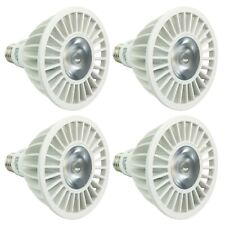 4-Pack PAR38 LED 20W 3000K Warm White Indoor/Outdoor Flood Light Bulbs 150 Watt