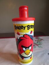 Tupperware NEW Angry Birds RED Bird Tumbler 16 oz  Flip Top Spout SEAL