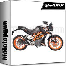 SPARK ESCAPE BAJO KONIX RACING ACERO NEGRO KTM DUKE 390  2013 13 2014 14 2015 15