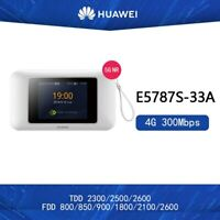 Unlocked Huawei E5787S-33A 300mbps 4g lte Wireless Router Bands(1/3/5/7/8/28/40)
