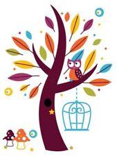 Owl Cartoon Art Posters