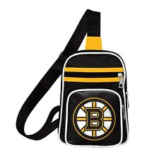 NEW BOSTON BRUINS MINI CROSS PURSE SLING BAG