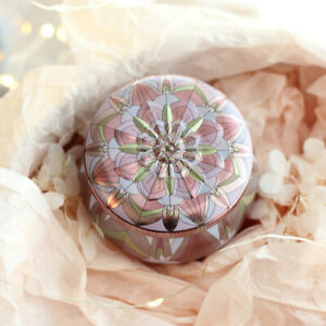 Plated Gift Jewelry Display Decorative Wedding Ornament Candy Box