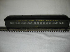 Atlas Trainman #2001102-5 Chicago & North Western 60' Coach Car #3232 (3Rail)