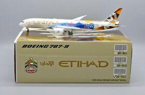 JC Wings 1:200 Etihad Airways Boeing B787-900 Dreamliner 'Choose The USA' A6-BLC