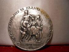1971 médaille Argent par Corbin EDUCATION NATIONALE 45mm