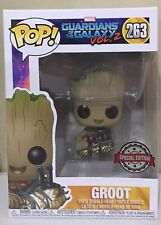 Funko Pop Marvel Guardians of the Galaxy Groot With Bomb #263 Vinyl Figure