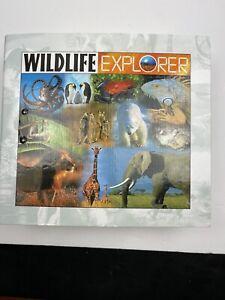 Wildlife Explorer (1998, Hardcover) ANIMAL BINDER Homeschool 8 Dividers