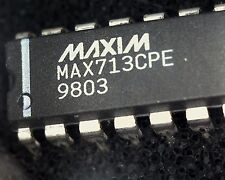 MAX713CPE battery charger IC 16 pin DIP