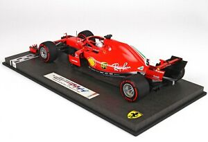 Ferrari F1 Sf71H #5 Winner Canada Gp 2018 S.Vettel Red BBR 1:18 BBR181805CANSH M