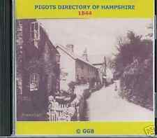 GENEALOGY DIRECTORY OF HAMPSHIRE 1844 CD ROM