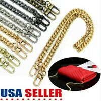 Metal Replacement Purse Chain Strap Handle Shoulder Crossbody Handbag Bag 47in