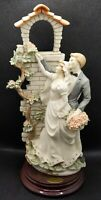 G Armani Florence WEDDING SHRINE Bride/Groom Figurine 0201C Fiori alla Madonna