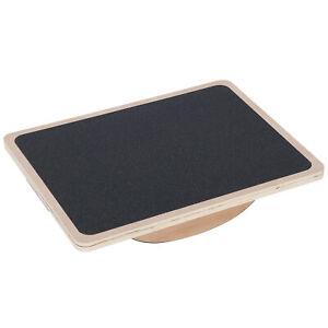 Professional Wooden Balance Board Rocker Board Wood Standing Desk Accessory