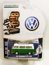 1977 '77 VW VOLKSWAGEN TYPE 2 BUS VAN V-DUB SERIES 3 GREENLIGHT DIECAST 2016