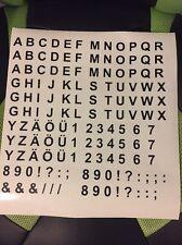 Buchstaben Zahlen A-Z 0-9 138 stk. Klebezahlen Aufkleber Klebebuchstaben