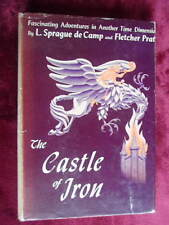 SIGNED 1st, L Sprague de Camp - CASTLE OF IRON - 1950 Fletcher Pratt, Hannes Bok