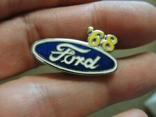 '68 Ford Pin Enamel 1968 Blue Oval Pinback