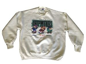 VTG 1990s The Chipmunks Alvin SWEATSHIRT USA  Jerzees  X-large