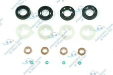 Peugeot 3008 1.6 HDI 2009-on  4x New Fuel Injector Seal Washer Oring Kit Set