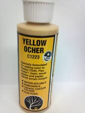 Woodland Scenics Earth Color Pigment Paint YELLOW OCHER #1223 C1223 Modeling