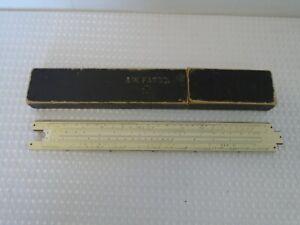 Vintage A W Faber-Castell, Slide Rule Model 378