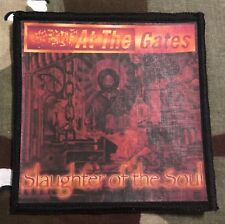 At The Gates Slaughter Of The Soul Printed Patch A047P Entombed Carnage Carcass