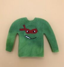 Ninja turtle *Sweater only* 12 In. Dolls Handmade shelf  elf Clothes.