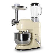 Klarstein Küchenmaschine Rührmaschine Knetmaschine Standmixer Fleischwolf creme