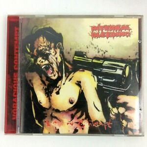 Internal Bleeding - Voracious Contempt (1995, CD) Death Metal RARE