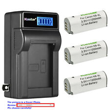 Kastar Battery LCD Wall Charger for Canon NB-9L CB-2LB Canon IXUS 1000 HS Camera
