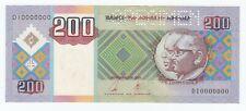 Angola 200 Kwanzas 2003 SPECIMEN P# 148s UNC (e266)