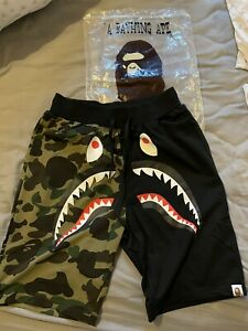 Bape A Bathing Ape Shark Shorts
