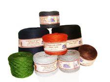 #243 Peruvian Fine 100% Alpaca Yarn Skein 150 Yd Knitting Weaving Black 4 Oz