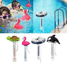 Cartoon Floating Outdoor Pool Pond Thermometer Shatter-Resistant with String