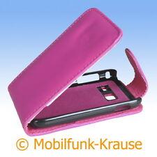 FLIP Case Astuccio Custodia Cellulare Borsa Astuccio Per Samsung gt-s6102/s6102 (rosa)
