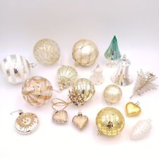 Lot of 17 Vintage Blown Glass Christmas Ornaments - West Germany - Czech