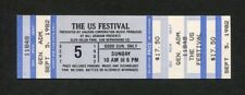 1982 Us Festival Full Concert Ticket Grateful Dead Fleetwood Mac Browne Buffett