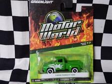 1956 Green 1:64th F-100 with Flames by Greenlight