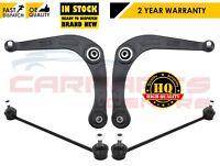 FOR PEUGEOT 206 FRONT LOWER BOTTOM SUSPENSION WISHBONE ARM ARMS STABILISER LINKS