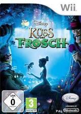 Nintendo Wii +Wii U Disneys KÜSS DEN FROSCH * Neuwertig