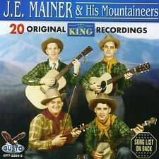 J.E. Mainer, J.E. Ma - 20 Original King Recordings [New CD]