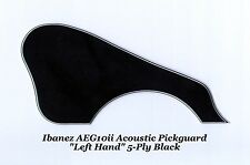 Ibanez AEG10ii LEFT HAND Pickguard 5-Ply Blk Custom Acoustic Guitar Project NEW