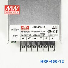 1pc New MEAN WELL Switching Power Supply HRP-450-12 (12V 37.5A )