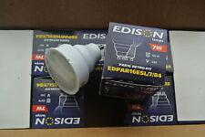 10 x edison GU10 PAR16 standard 54mm longueur blanc froid 7w cfl basse consommation ampoule