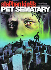 Incorniciato STEPHEN KING MOVIE Print-PET SEMATARY (horror picture poster Gotica)