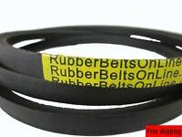 """Quality 5/8"""" Inch Wide 107"""" Length Rubber V Belt B104 Width .625"""" VBelt (5L1070)"""