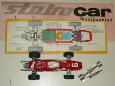 STABOCAR FERRARI F1 SLOT RACERS CAR AUTOMODELLO PISTA ELETTRICA VINTAGE UNICAR