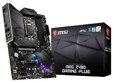 MSI MPG Z490 GAMING PLUS Socket LGA1200 Intel 10th Gen ATX Motherboard